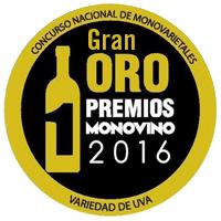 GRAN ORO 2016 Premio MONOVINO Concurso Nacional de Monovarietales